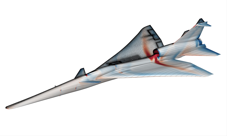 NASA@SC18: Computational Simulations of Next-Generation Aircraft